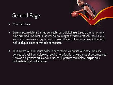 Basketball Theme PowerPoint Template Slide 2