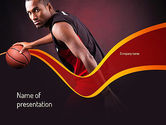 Sports: Basketball Theme PowerPoint Template #11105