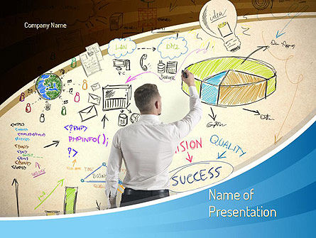 Startup Business Plan PowerPoint Template, 11106, Business Concepts — PoweredTemplate.com