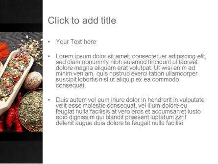 Set of Spices PowerPoint Template, Slide 3, 11107, Food & Beverage — PoweredTemplate.com
