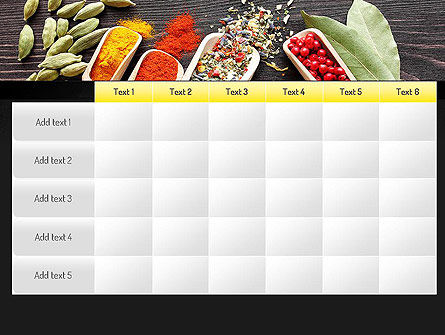 Set of Spices PowerPoint Template Slide 15