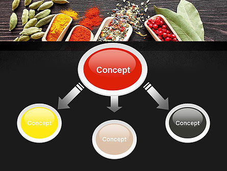 Set of Spices PowerPoint Template, Slide 4, 11107, Food & Beverage — PoweredTemplate.com