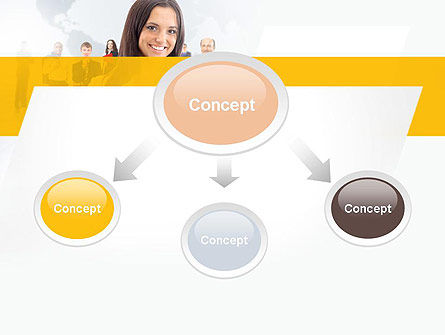 Business Woman PowerPoint Template Slide 4