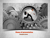 Business Concepts: Plantilla de PowerPoint - parte de un sistema #11110