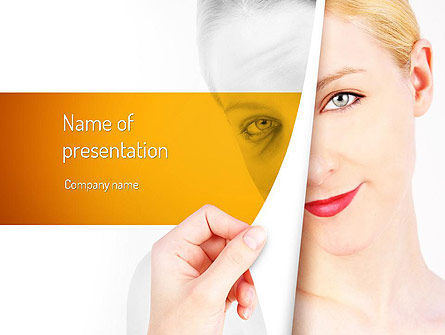 Skin Renewal PowerPoint Template, 11112, Careers/Industry — PoweredTemplate.com