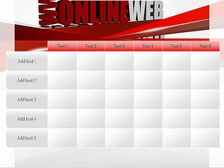 Web Marketing PowerPoint Template Slide 15