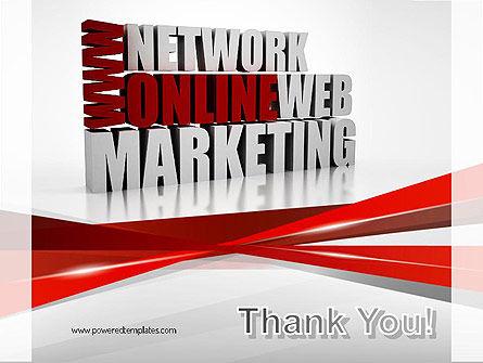 Web Marketing PowerPoint Template Slide 20