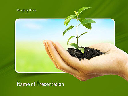 Environmental Conservation PowerPoint Template, 11117, Nature & Environment — PoweredTemplate.com