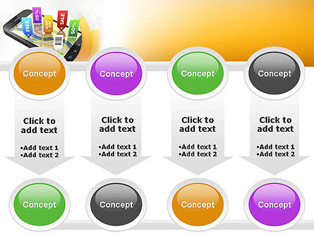 Mobile Coupons PowerPoint Template Slide 18