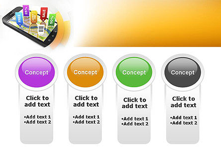 Mobile Coupons PowerPoint Template Slide 5