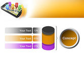 Mobile Coupons PowerPoint Template#11