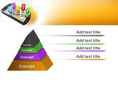 Mobile Coupons PowerPoint Template#12