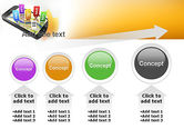 Mobile Coupons PowerPoint Template#13