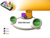 Mobile Coupons PowerPoint Template#16