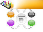 Mobile Coupons PowerPoint Template#6