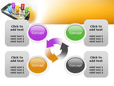 Mobile Coupons PowerPoint Template#9