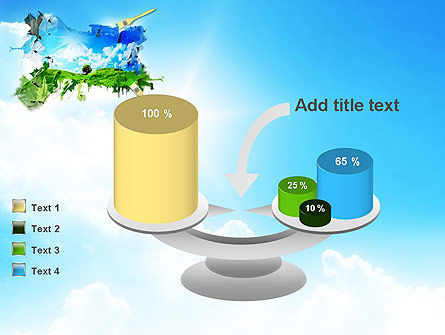 Grass and Sky PowerPoint Template Slide 10