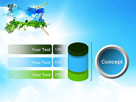 Grass and Sky PowerPoint Template Slide 11