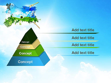 Grass and Sky PowerPoint Template Slide 12