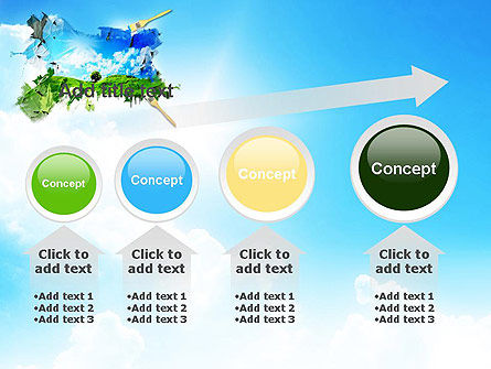 Grass and Sky PowerPoint Template Slide 13