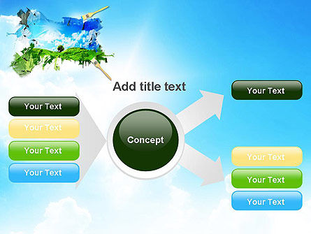 Grass and Sky PowerPoint Template Slide 14