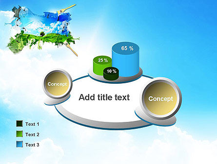 Grass and Sky PowerPoint Template Slide 16