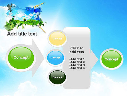 Grass and Sky PowerPoint Template Slide 17