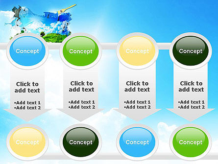 Grass and Sky PowerPoint Template Slide 18