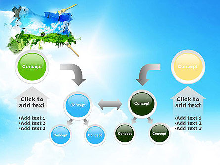 Grass and Sky PowerPoint Template Slide 19