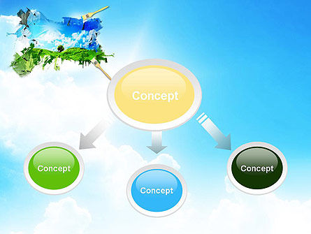 Grass and Sky PowerPoint Template Slide 4