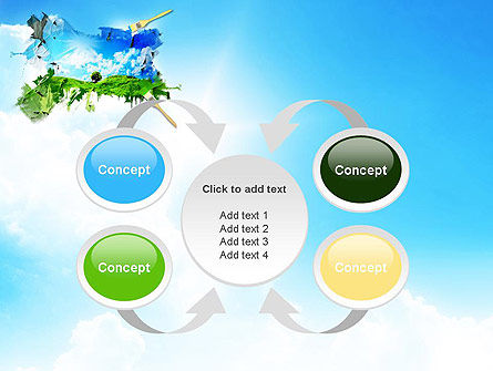 Grass and Sky PowerPoint Template Slide 6