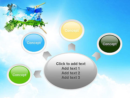 Grass and Sky PowerPoint Template Slide 7