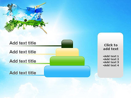 Grass and Sky PowerPoint Template Slide 8