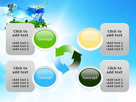 Grass and Sky PowerPoint Template Slide 9