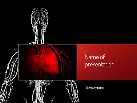 Medical: Lung Disease PowerPoint Template #11129
