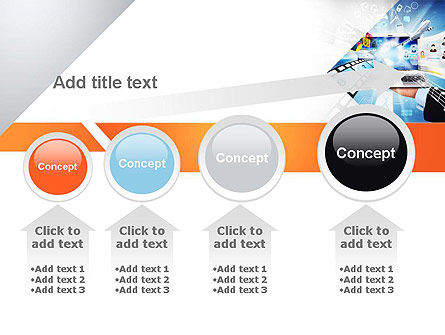 Media PowerPoint Template Slide 13