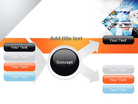 Media PowerPoint Template Slide 14