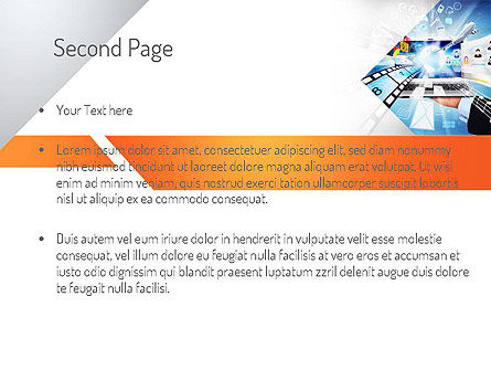 Media PowerPoint Template Slide 2