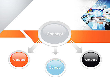 Media PowerPoint Template, Slide 4, 11133, Careers/Industry — PoweredTemplate.com