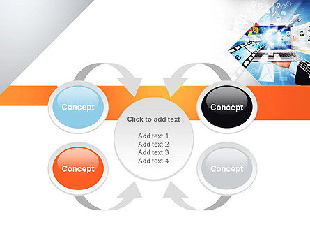 Media PowerPoint Template Slide 6