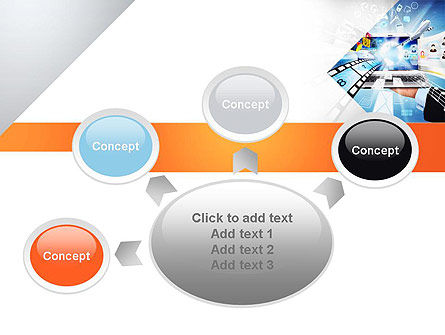 Media PowerPoint Template Slide 7