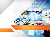 Careers/Industry: Media PowerPoint Template #11133