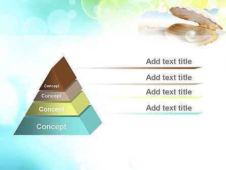 Pearl in the Shell PowerPoint Template Slide 12