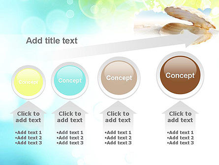 Pearl in the Shell PowerPoint Template Slide 13