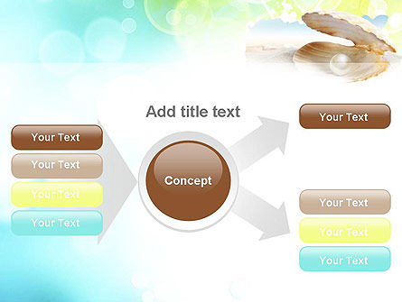 Pearl in the Shell PowerPoint Template Slide 14