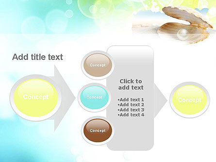 Pearl in the Shell PowerPoint Template Slide 17