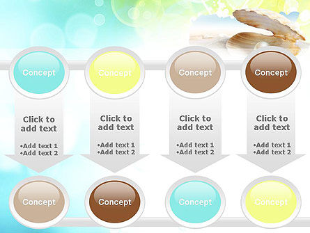 Pearl in the Shell PowerPoint Template Slide 18