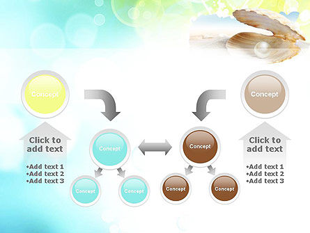 Pearl in the Shell PowerPoint Template Slide 19