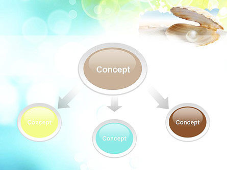 Pearl in the Shell PowerPoint Template Slide 4