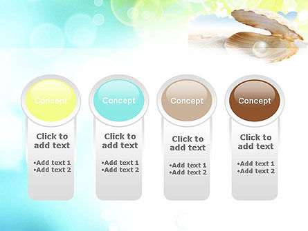 Pearl in the Shell PowerPoint Template Slide 5